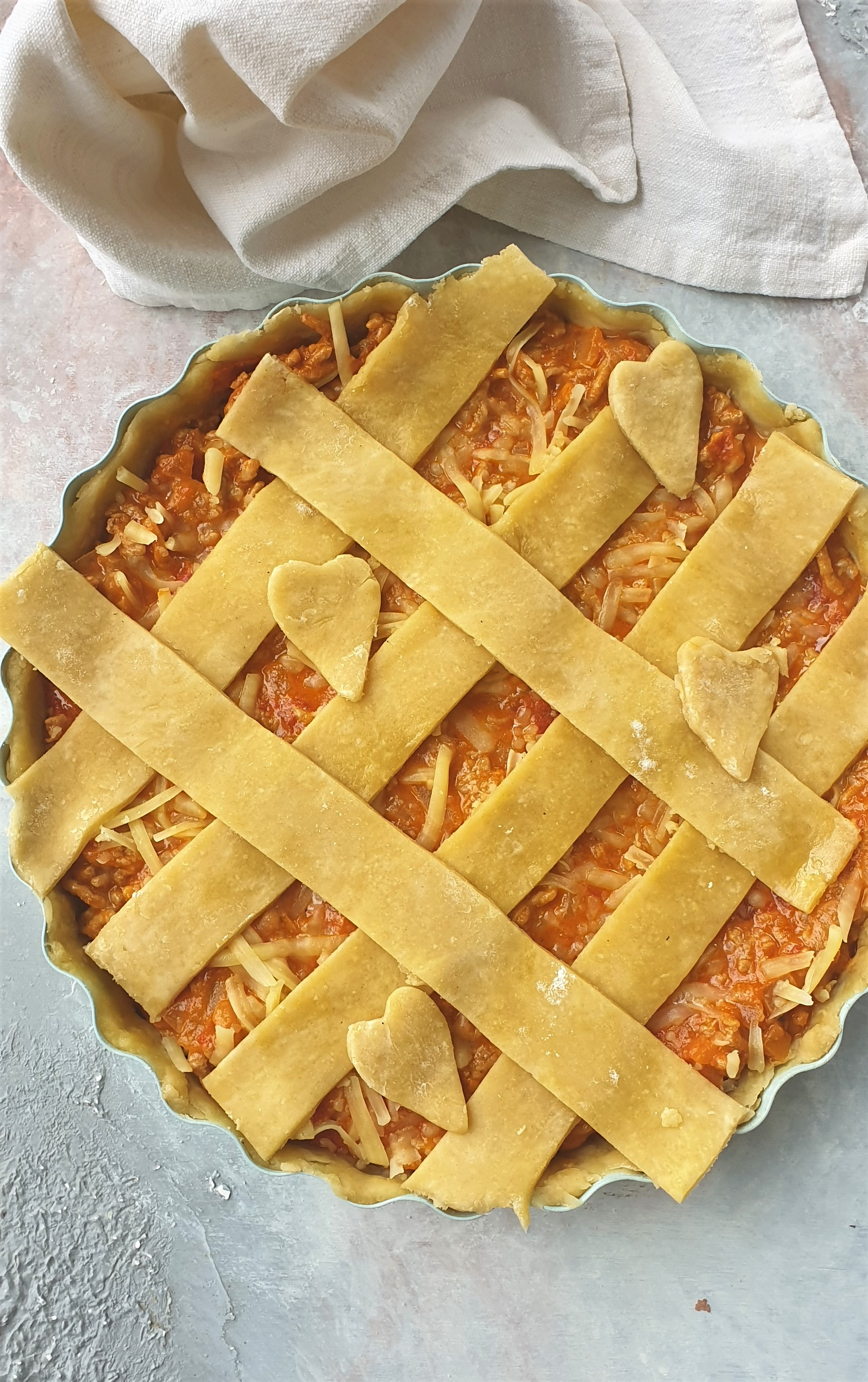 Mince & Cheese Pie (pre-cooked)