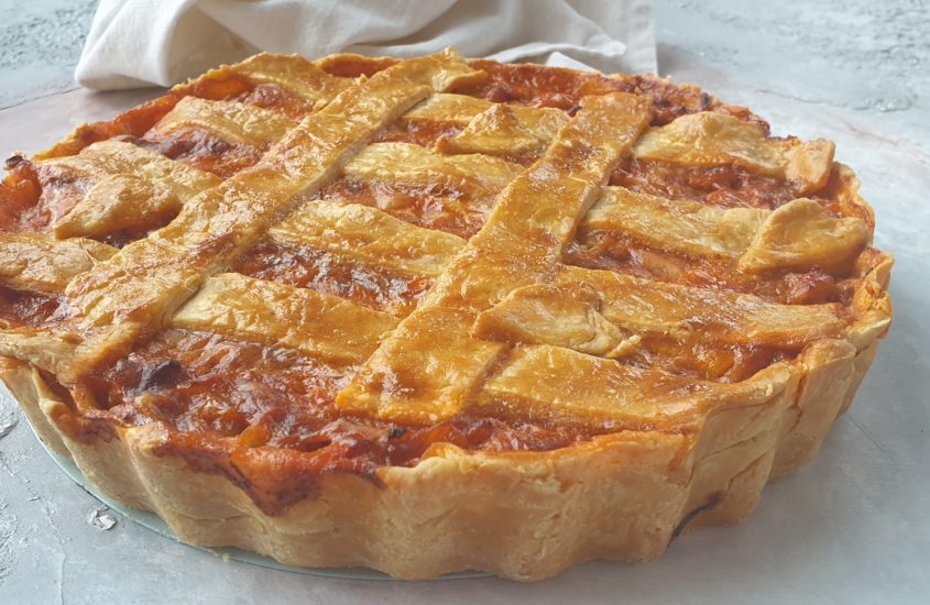 Healthy Mince & Cheese PIe