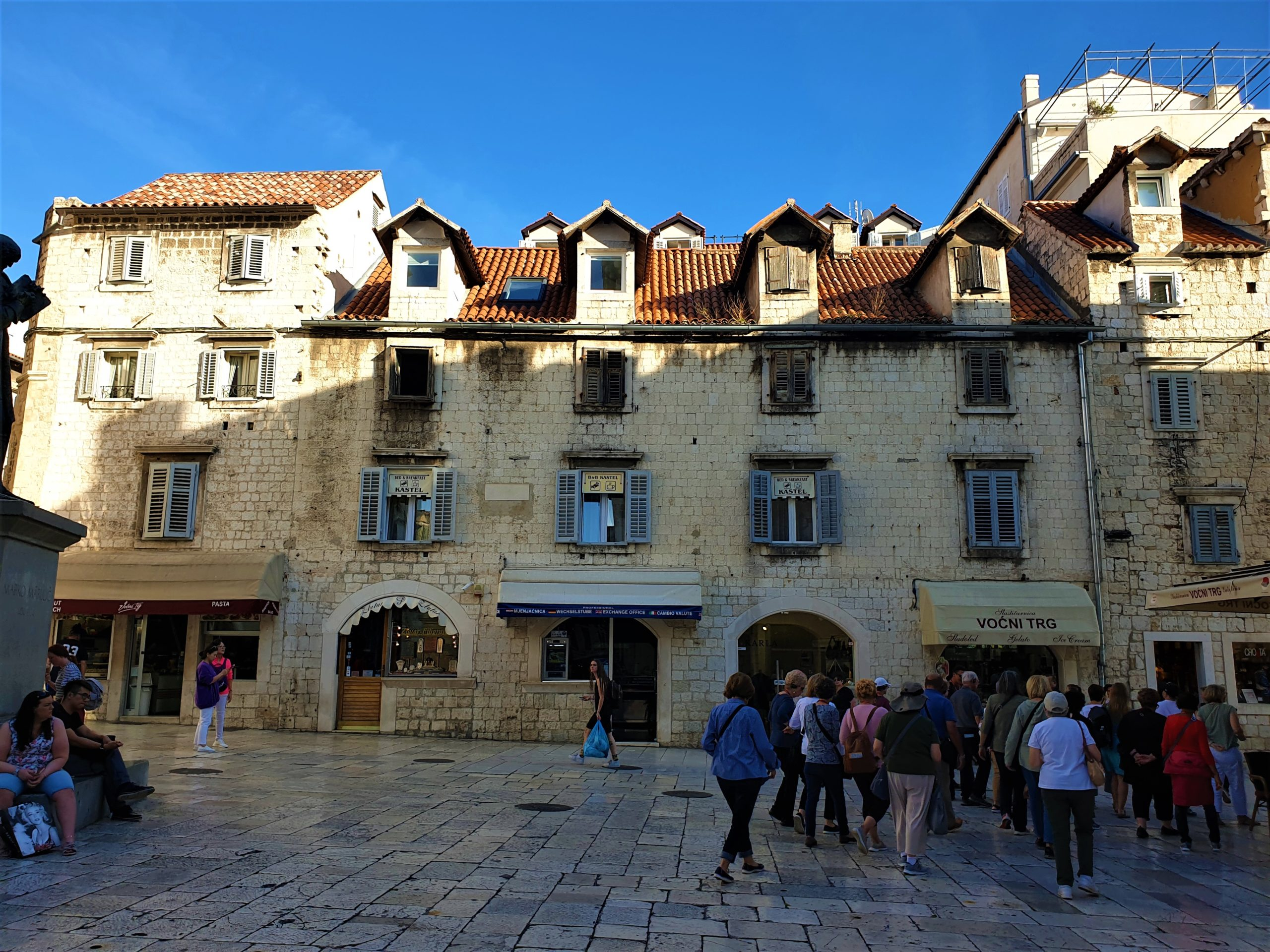 Streets of Old Town, Split