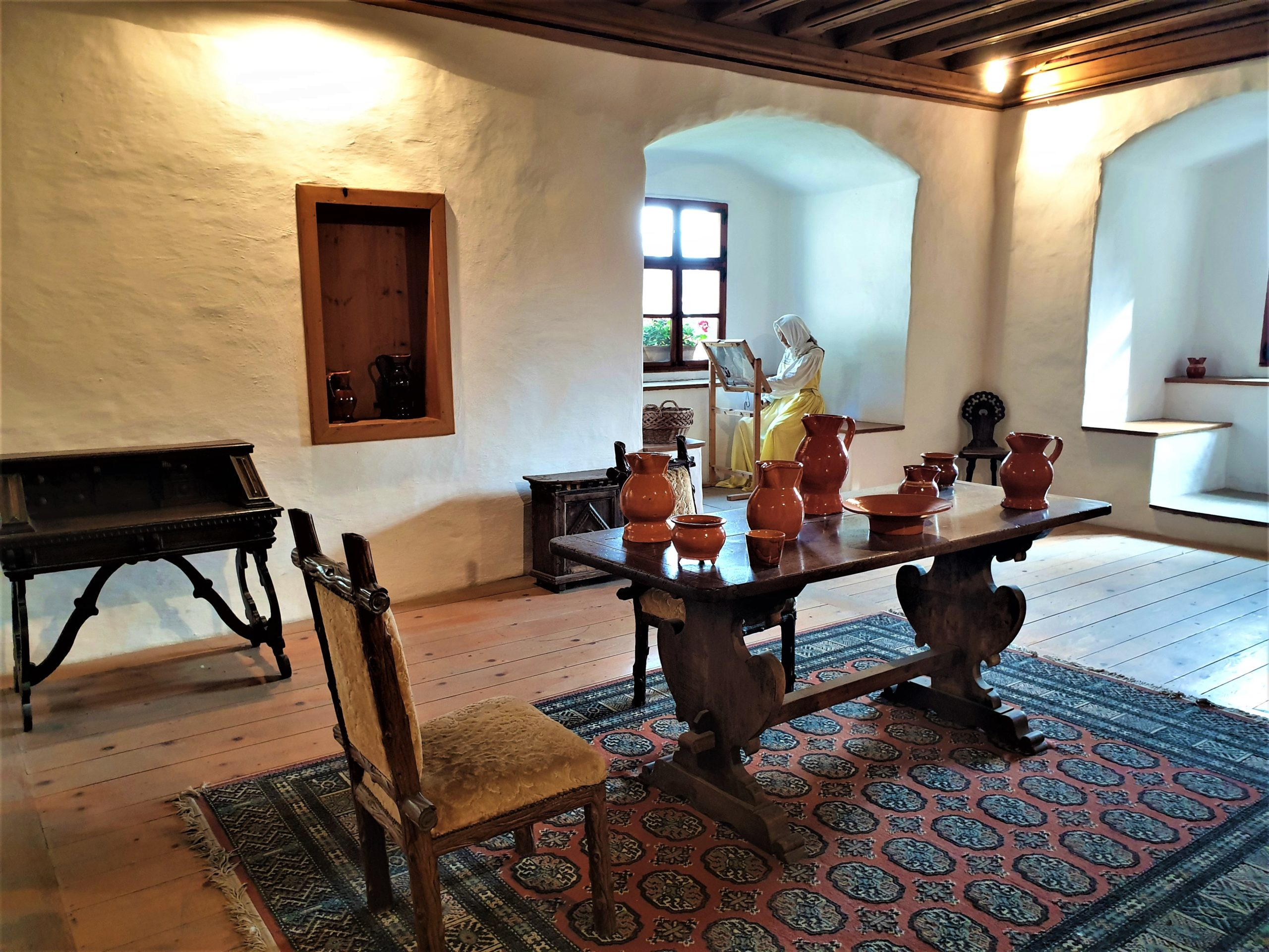 Furnished Interior of the Predjama Castle